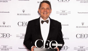 Rob Goudswaard CEO award