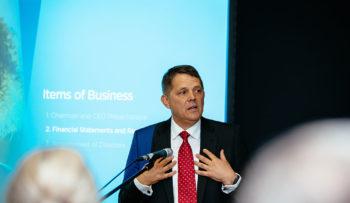 Rob Goudswaard presenting