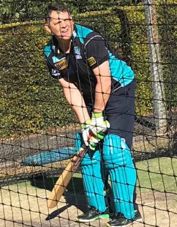 Having a hit in the nets